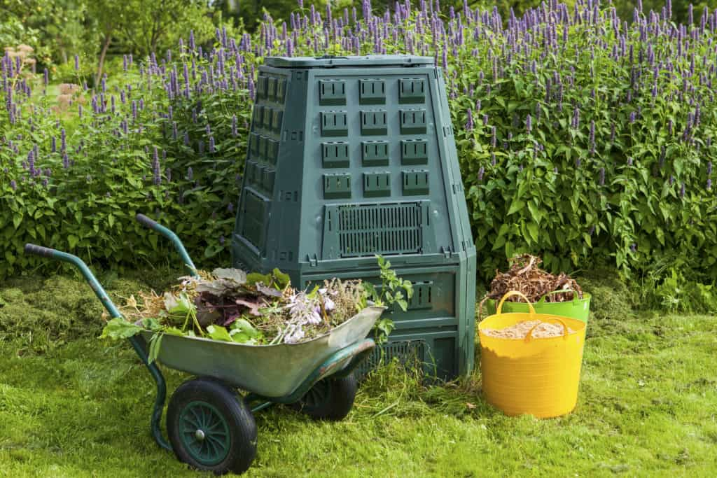 Picture of home composter.
